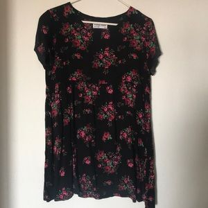 American Apparel Floral Babydoll Dress
